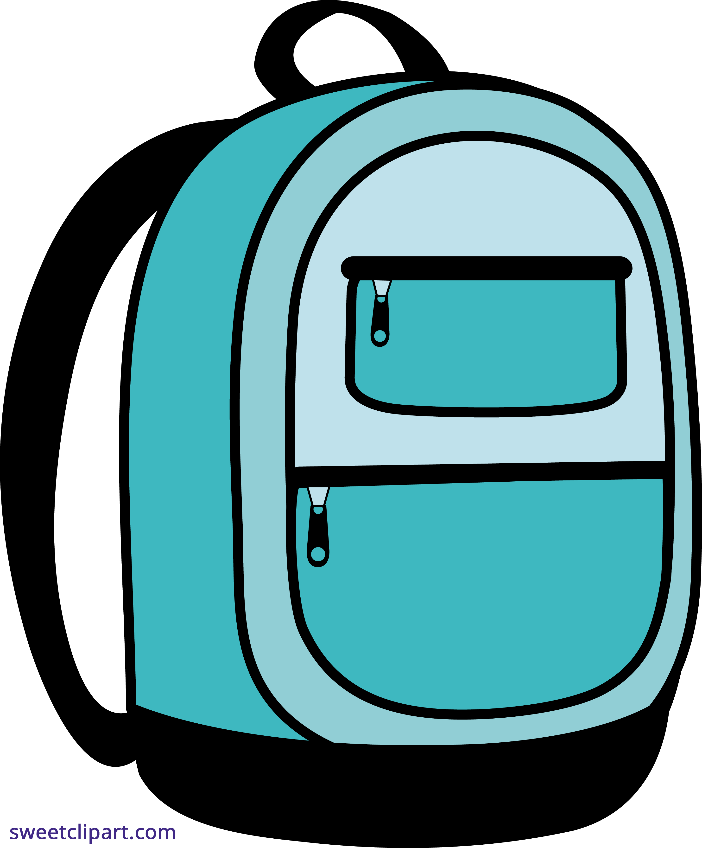 Backpack png clipart. Blue school sweet clip