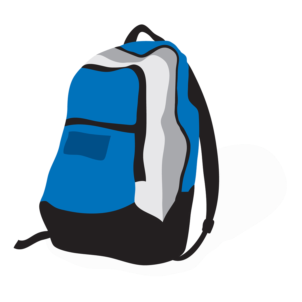 Backpack clipart emergency backpack. Pin by next on