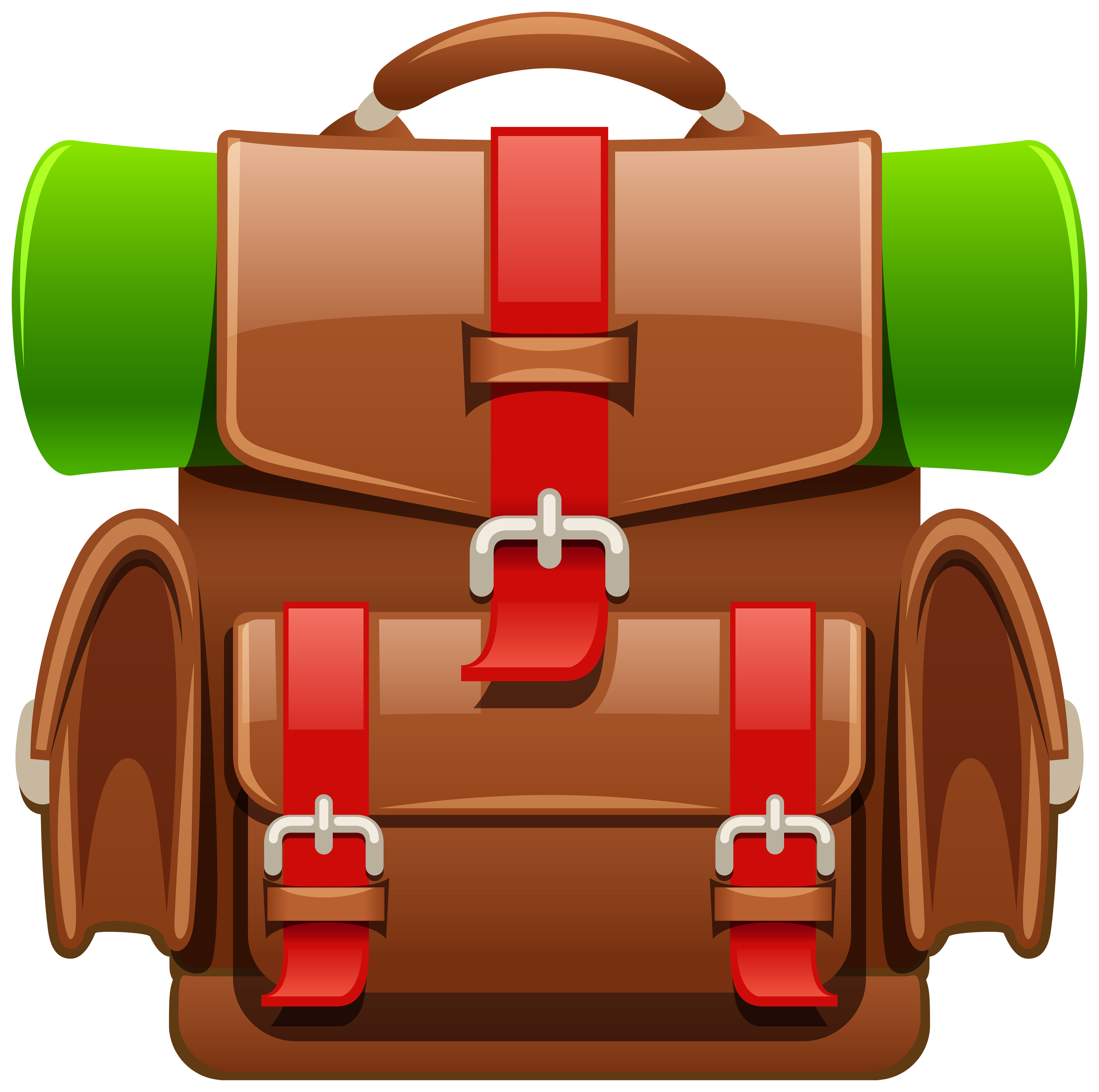 Backpack clipart png. Brown tourist image gallery