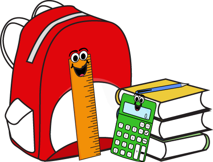 Backpack clipart school item. Supplies free panda images