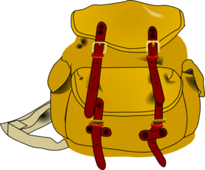 Luggage clipart messy. Electronic backpack west prairie
