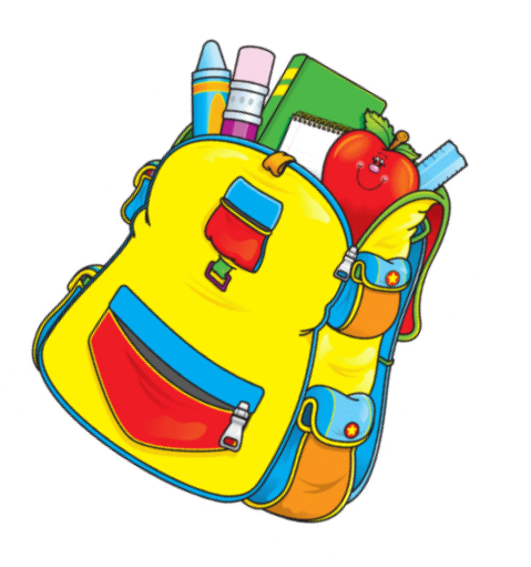 Backpack clipart school supply. Back to supplies for
