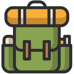 Png backpack icon. Free download in svg