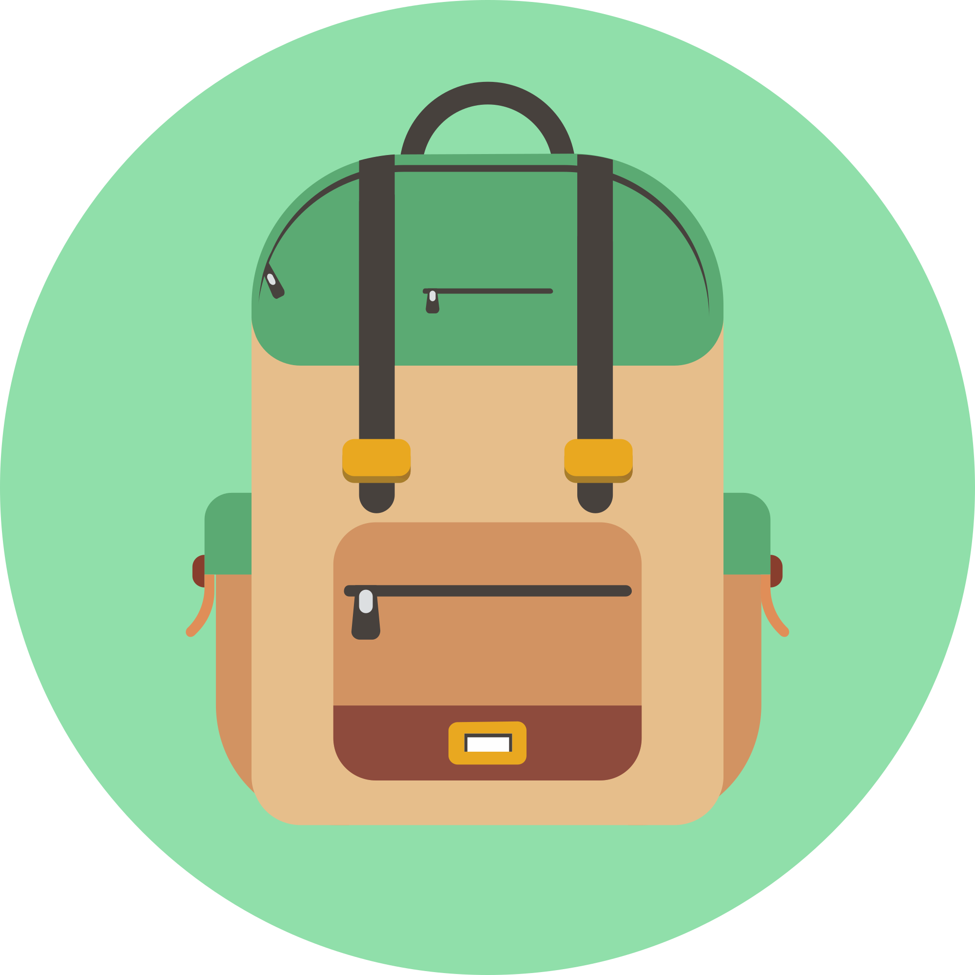 Backpack png icon