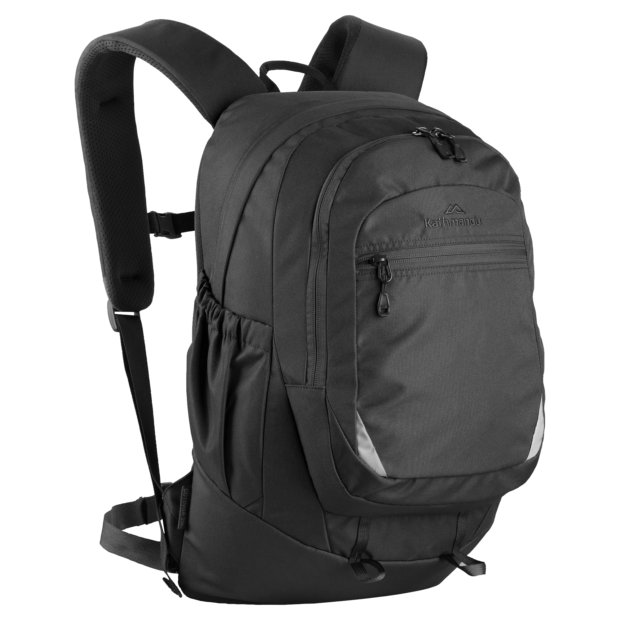 Backpack transparent png. Kathmandu black stickpng