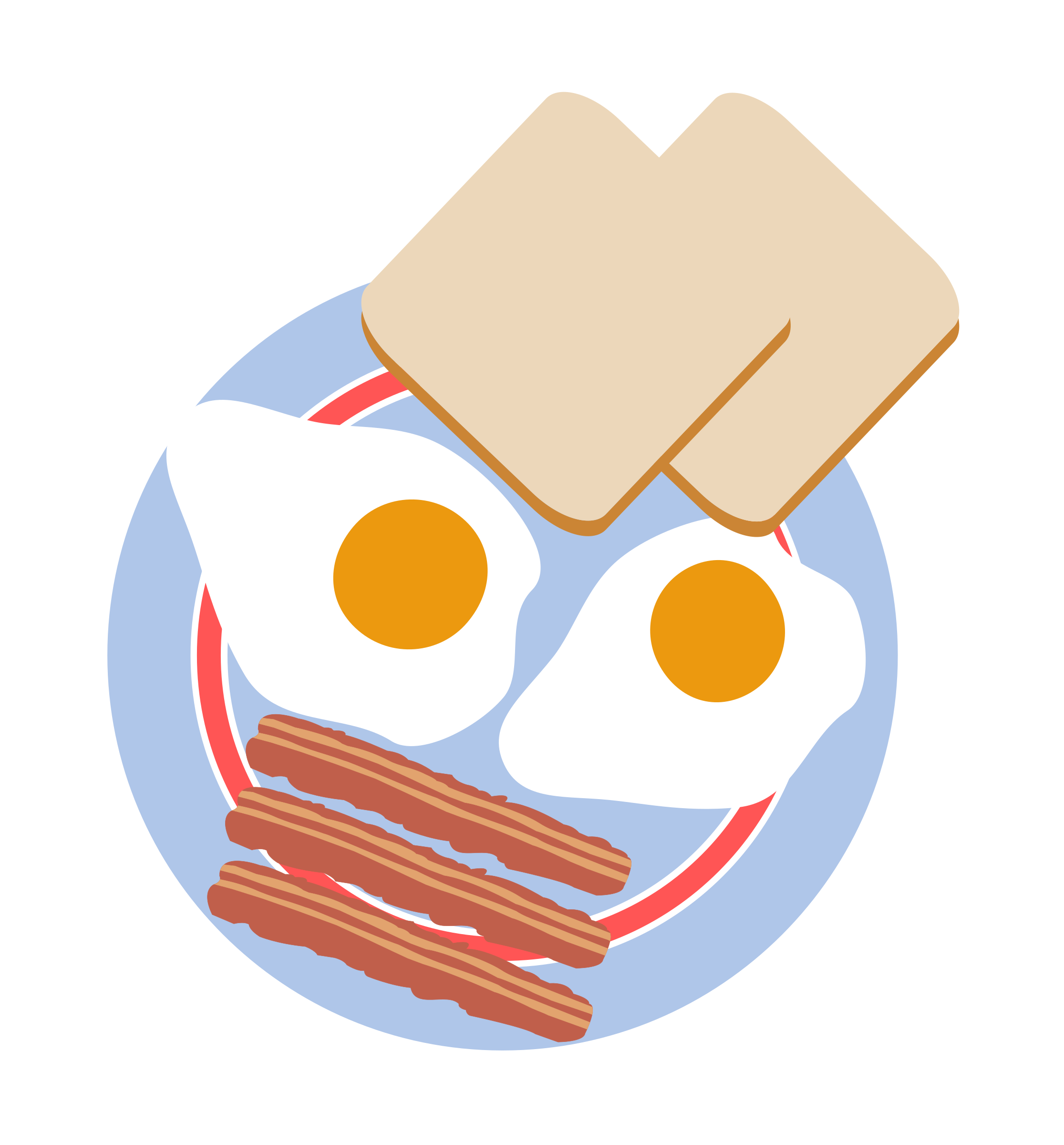 eggs and bacon png