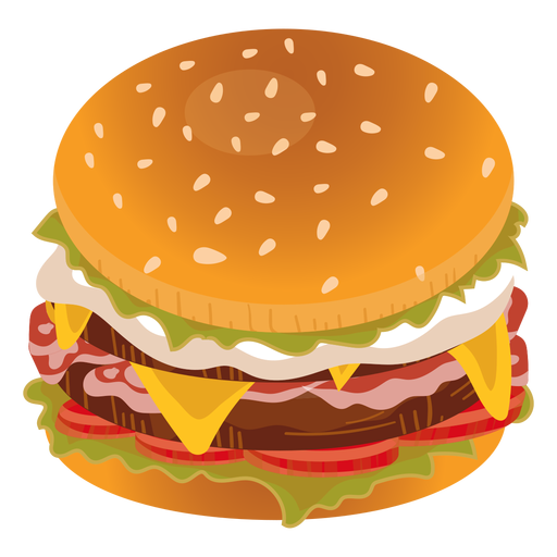 Bacon svg transparent background. Cheeseburger icon png vector