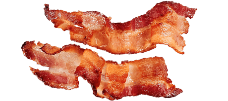 transparent bacon