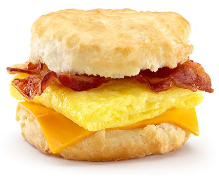Bacon egg and cheese sandwich png. Buckingham farms