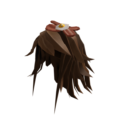 Bacon hair png. Image n eggs roblox