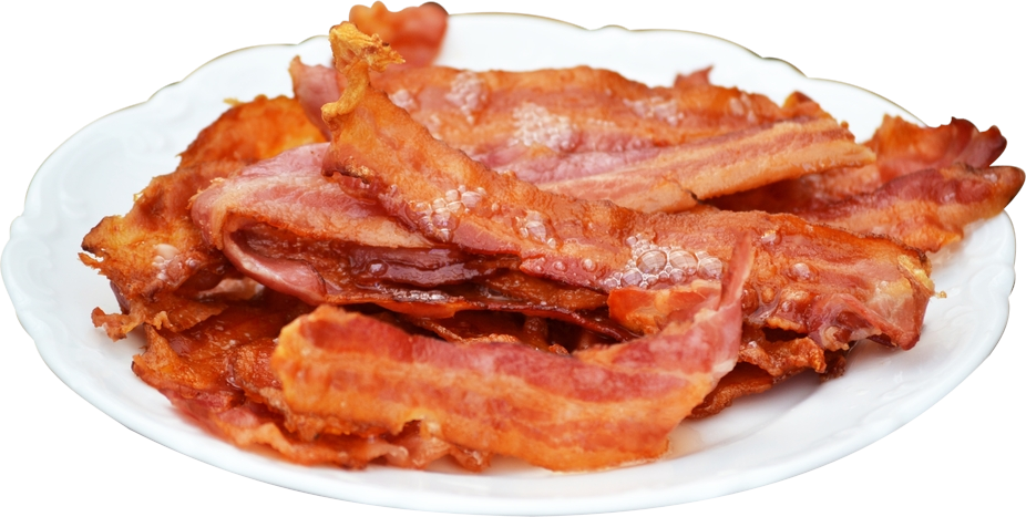 Bacon png clipart. Mart