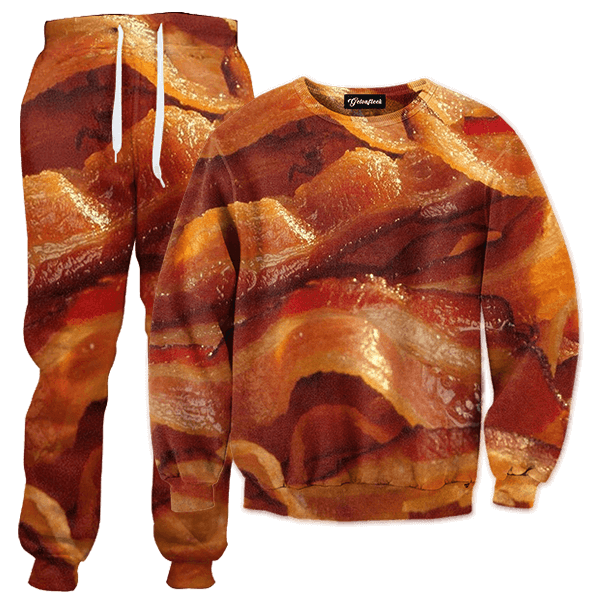 Bacon strip png. Strips tracksuit all over