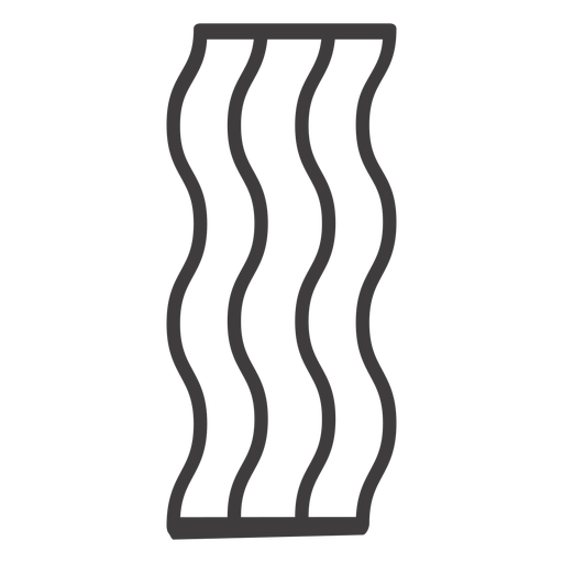 Bacon svg transparent background. Stroke food icon png