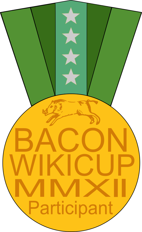 Bacon svg pixel art. File wikicup medal wikipedia