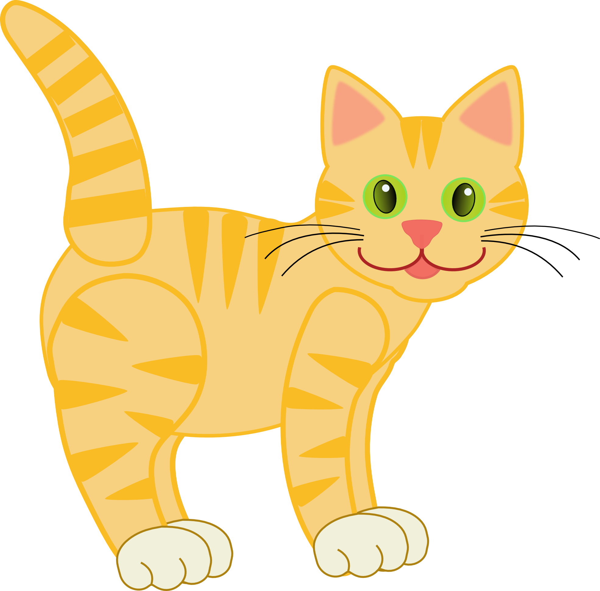 Cat clipart. Free kitten on dumielauxepices
