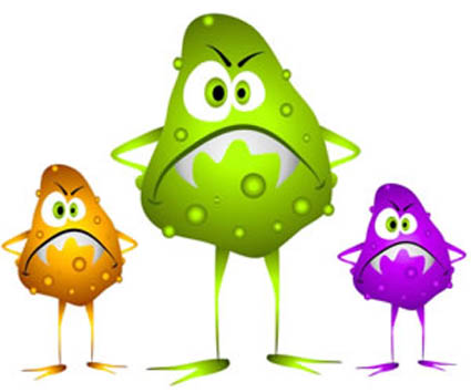 Bacteria clipart food poisoning.