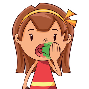 Breath in children tooth. Bad clipart bad child svg library library