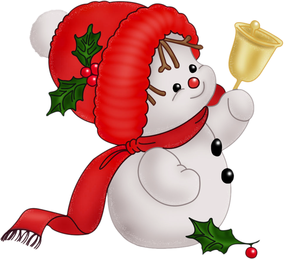 Christmas clipart cartoon. Snowman clip art free