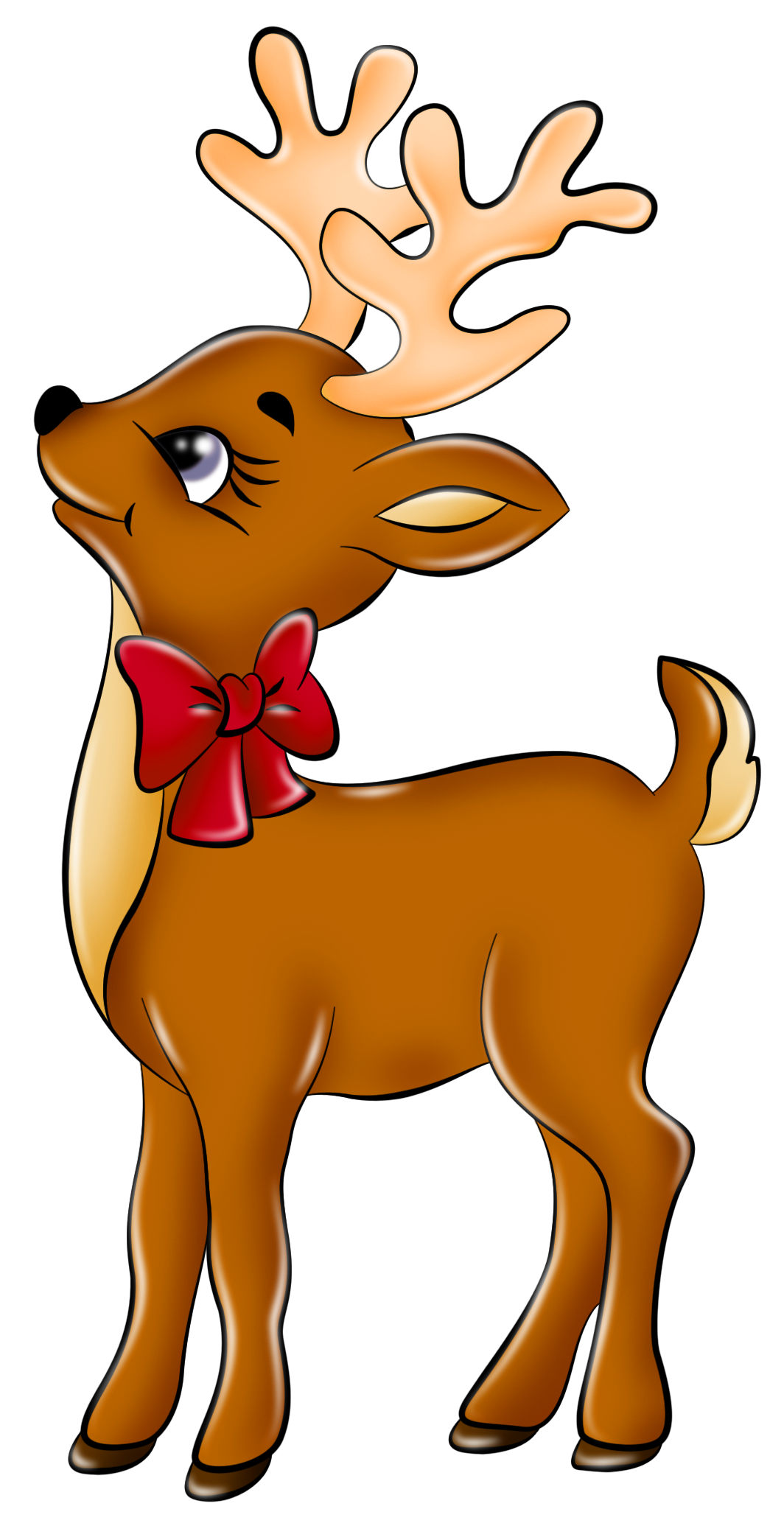 Rudolph clipart holiday. Free bad reindeer cliparts