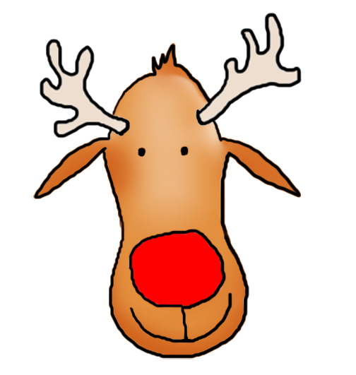 Rudolph clipart adorable. Free bad reindeer cliparts
