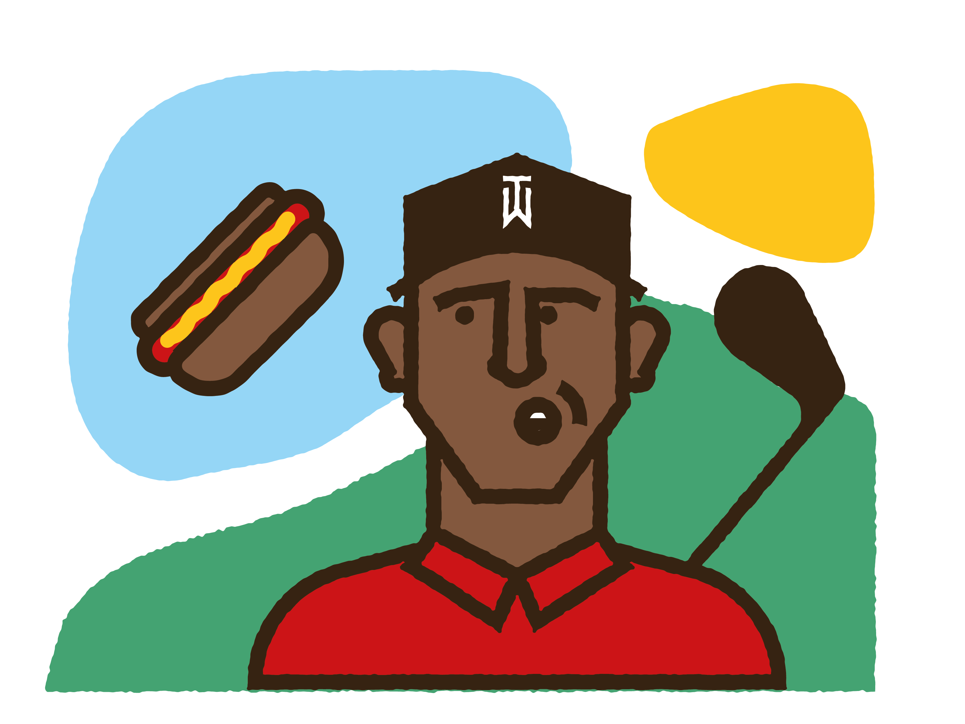 Bad clipart frankfurter. Tiger woods forty things