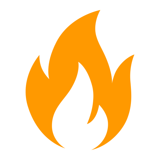 Patrol clipart fire. Fireplace flame icon with