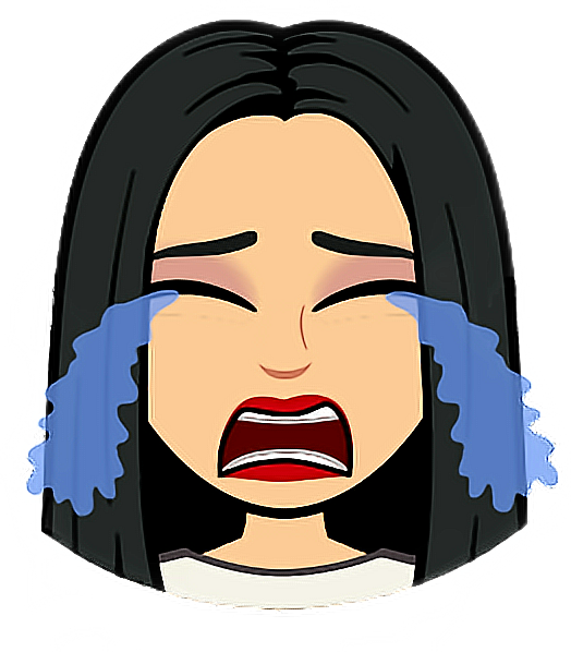 Bad clipart sad. Bitmoji dripping llanto lagrimas