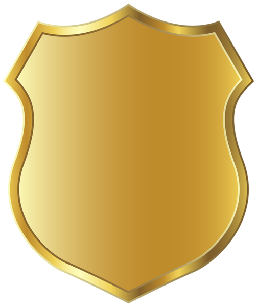 Badge clipart. Golden template png picture