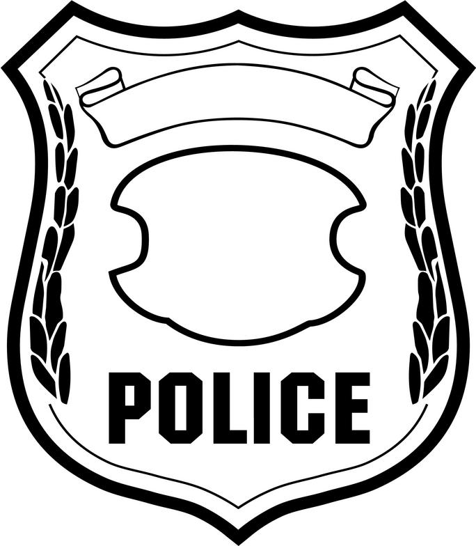 Police logo . Badge clipart clipart library download