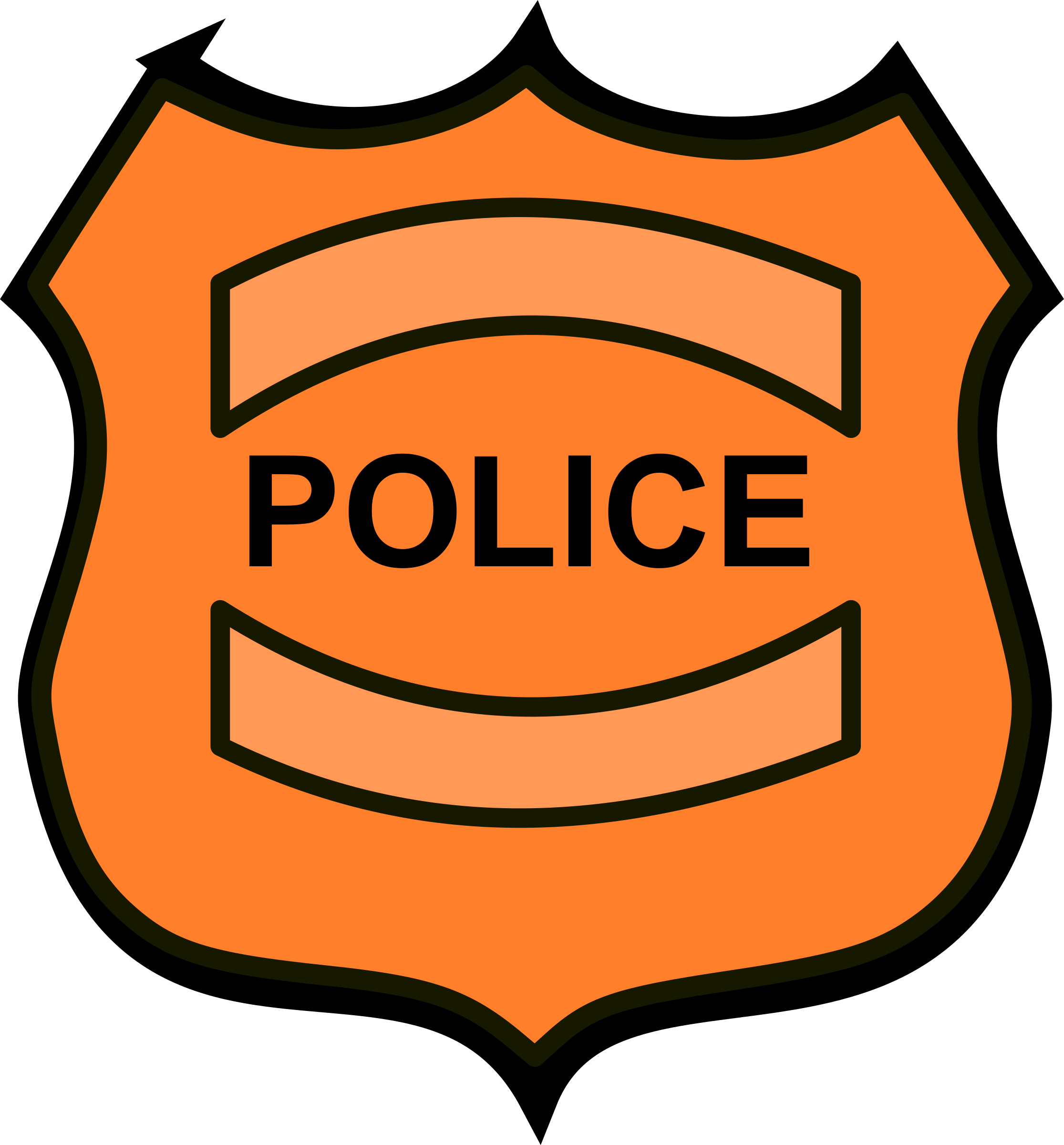Badge clipart academic. Police big image png