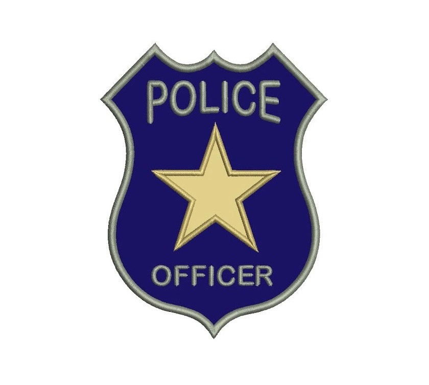 Printable police many interesting. Badge clipart cop badge svg
