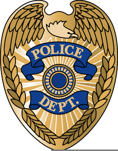 Badge clipart cop badge. Free police images at