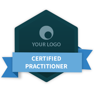 Badge design png. Guide add a accredible