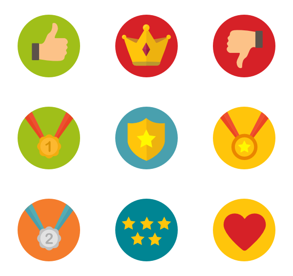 Badge icon png. Icons free vector badges
