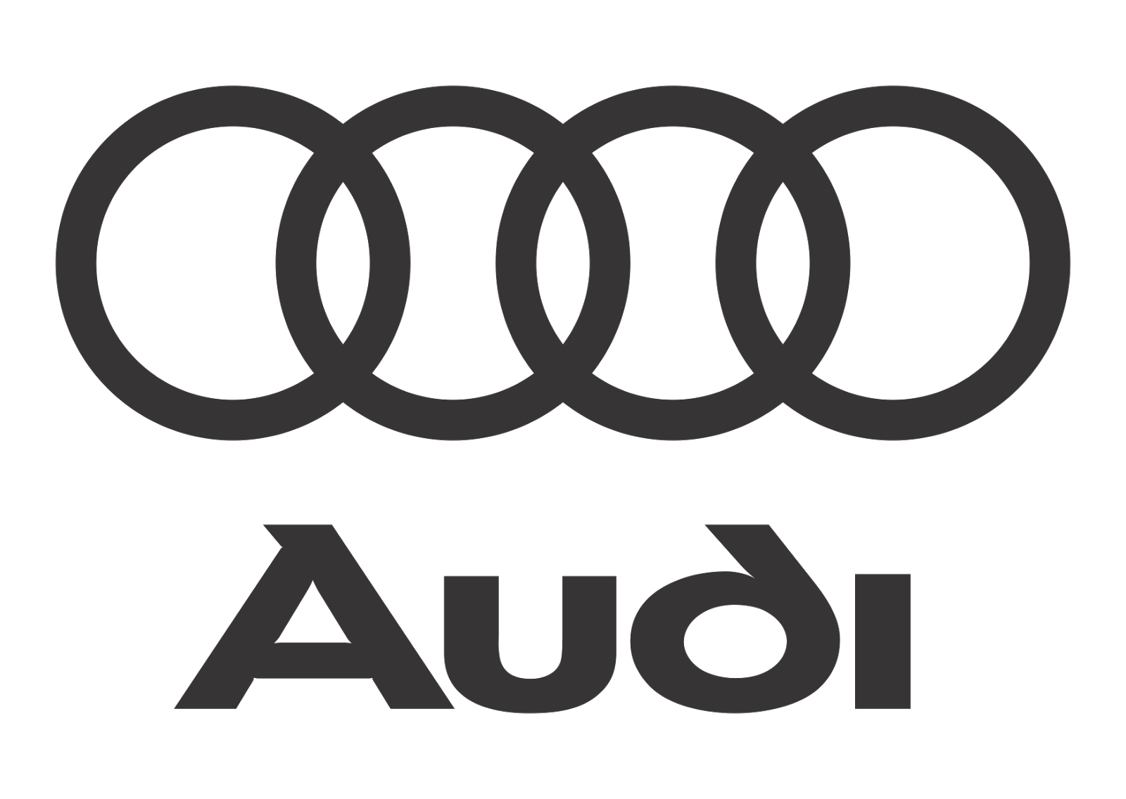 R$ png black and white. Audi logo vector download