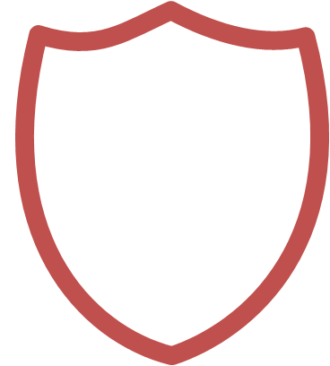 Sheild drawing. In powerpoint creating a