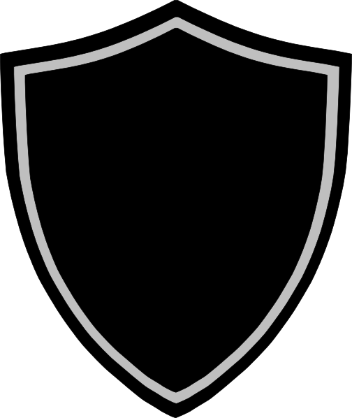 Badge shape png. Shield fifteen isolated stock