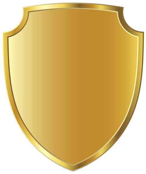 Badge template png. Gold clipart image gallery