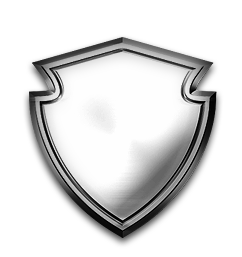 Badge transparent silver. Universal special forces logo