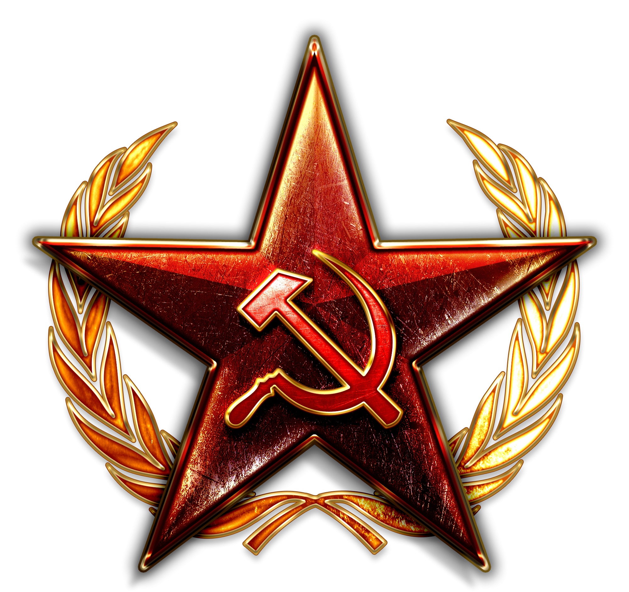 Badge transparent soviet. Russia and the union