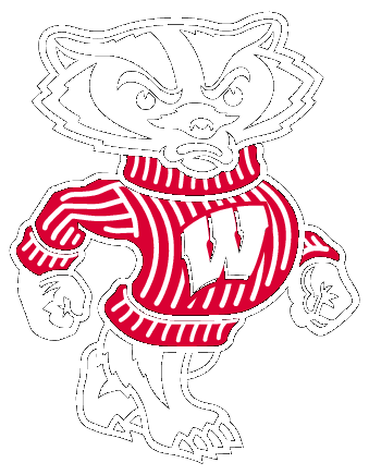 Badger clipart. Free wisconsin football cliparts