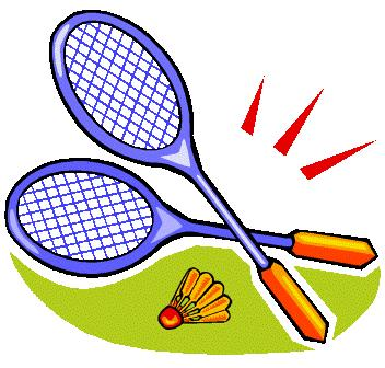 Badminton clipart image freeuse download
