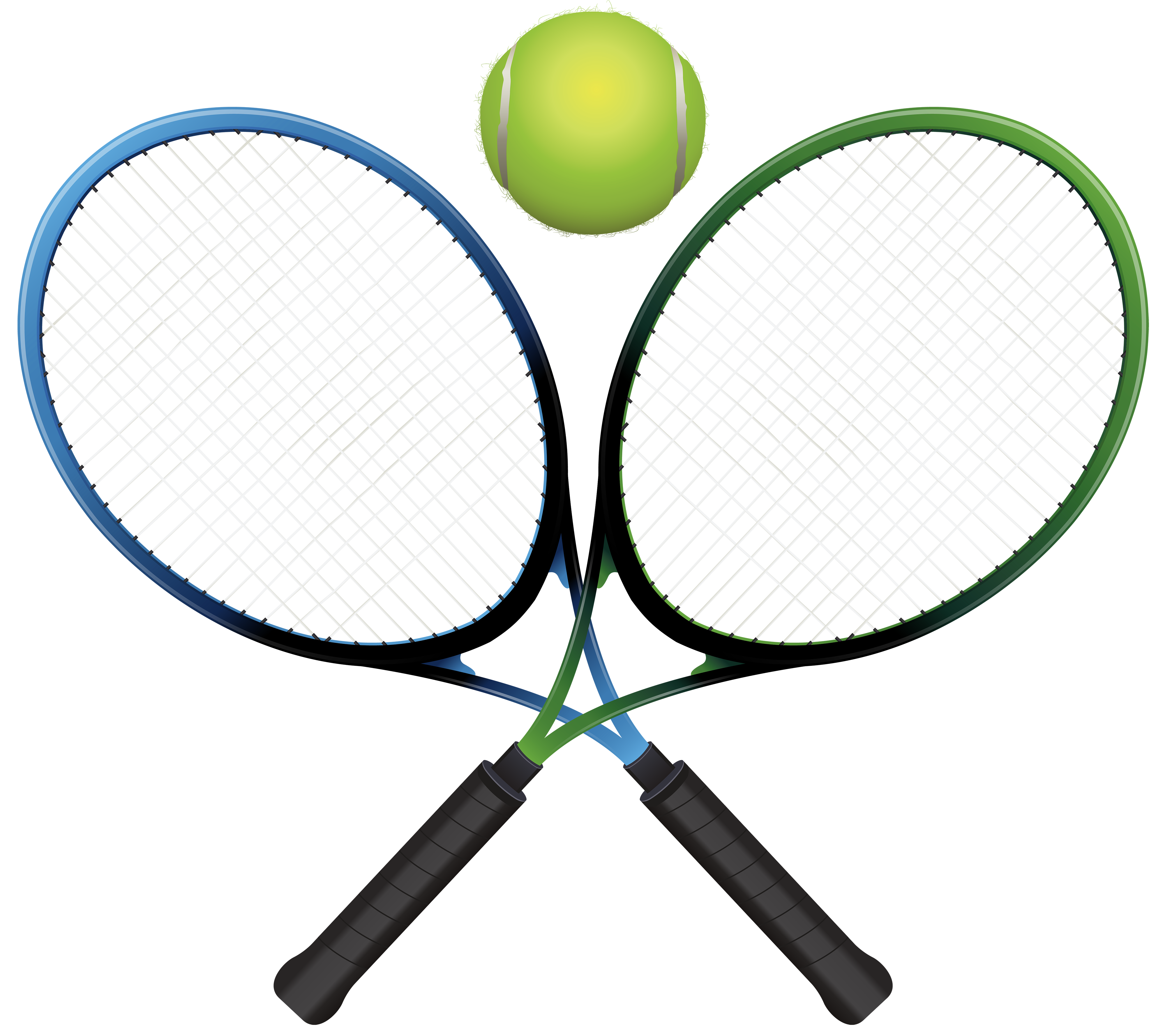 Tennis rackets and png. Badminton clipart ball badminton freeuse library