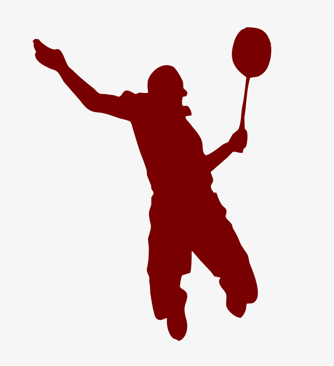 Badminton clipart shadow. Play red png image
