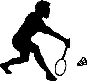 Badminton clipart shadow. Silhouette at getdrawings com