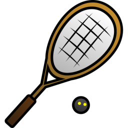 Squash rackets . Racket clipart racket sport graphic freeuse library