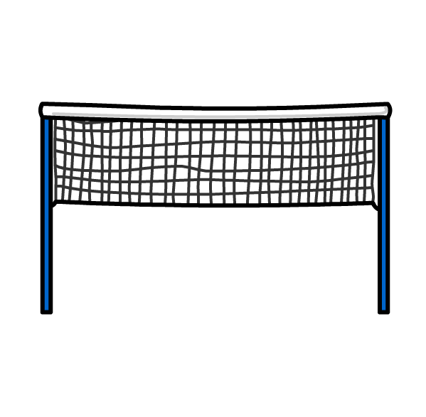 Badminton net png. White background images all