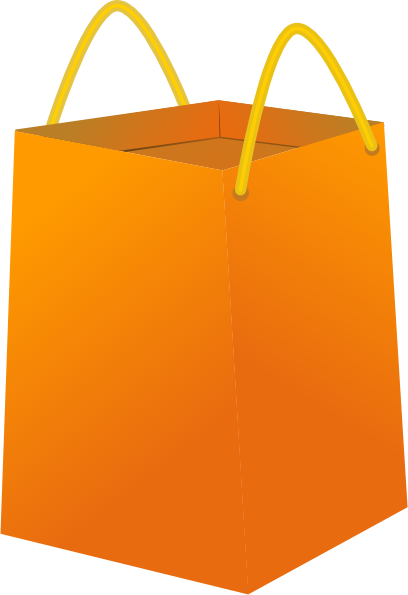 Bag clipart swimming bag. Blank shopping