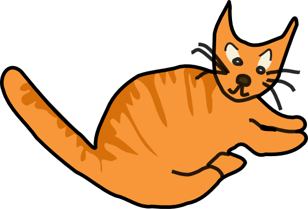 Cats clipart water. Free images of cat