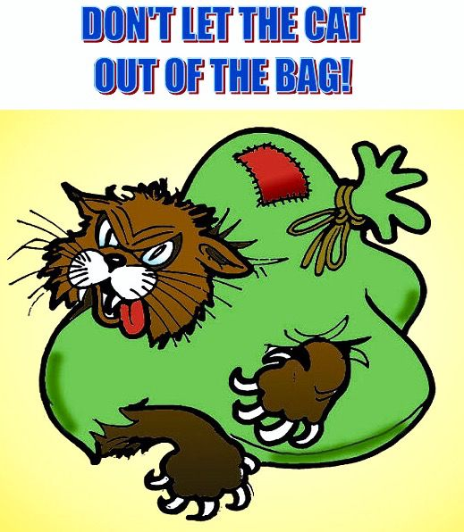 Bag clipart let the cat out. Best don t